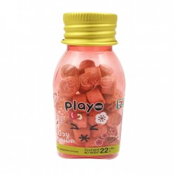 Kẹo ngậm mặn ngọt Play More vị xí muội thái lan dạng hủ 22g