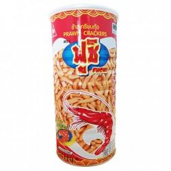 Bánh bim bim snack phồng tôm lon Fuchi Prawn Crackers