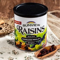 Nho khô mỹ không hạt Sunview Raisins Mỹ 425g