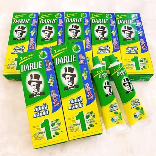 Kem đánh răng ông già Darlie Double Action thái lan 170g x2 tuýp