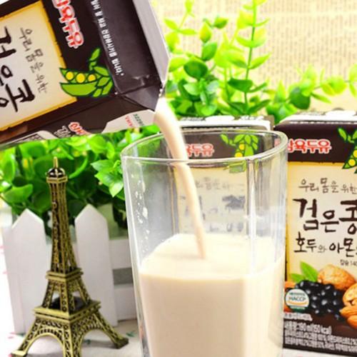 Sữa óc chó hạnh nhân đậu đen Sahmyook hàn quốc 190ml