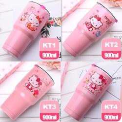 Bộ ly giữ nhiệt Hello Kitty 900ml