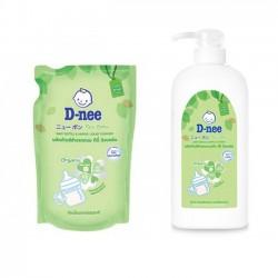 Nước rửa bình sữa và rau quả D-nee Thái Lan