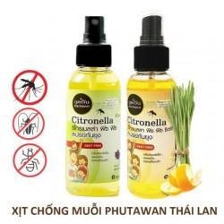 Tinh dầu sả xịt muỗi và côn trùng Phutawan Citronella Fitz Fitz thái lan