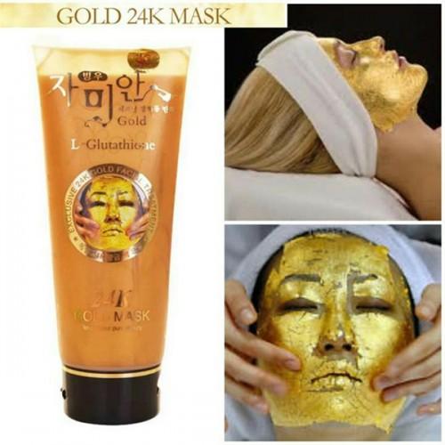 Mặt nạ vàng 24K Gold Mask (L- Glutathione) Hàn Quốc 220ml