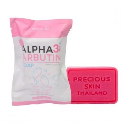 Xà phòng Alpha Arbutin 3 Plus Soap For Body 80g Thái lan