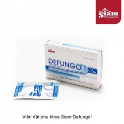 Viên đặt phụ khoa Defungo1 Siam cho phụ nữ thái lan hộp 1 viên