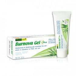 Gel trị bỏng và tái tạo da tổn thương Burnova Gel Plus Thái Lan