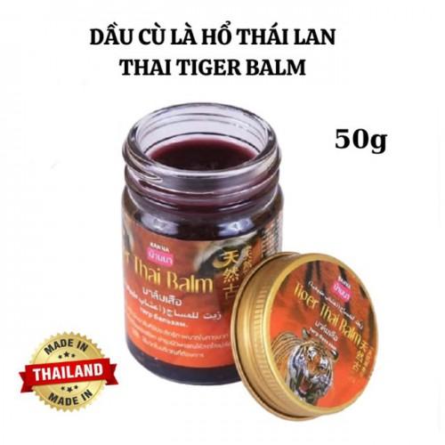 Dầu cù là hổ Tiger Thai Balm Thái Lan 50g