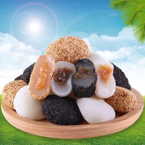 Bánh Mochi dẻo tròn Mix vị 2KG
