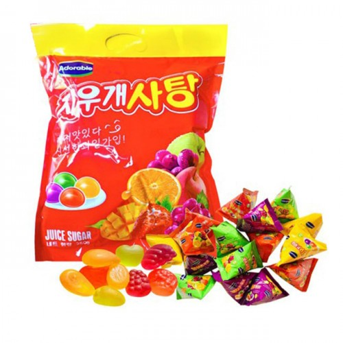 Kẹo dẻo trái cây hàn quốc Q04  Adorable Juice Suger 360g