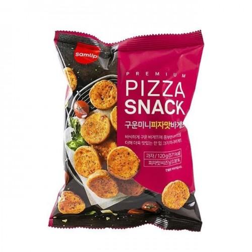 Snack bánh mì mơ tỏi Premium Garlic & Pizza hàn quốc 120g