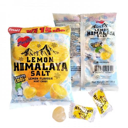 Kẹo chanh muối hồng vị bạc hà Lemon Himalaya Salt thái lan