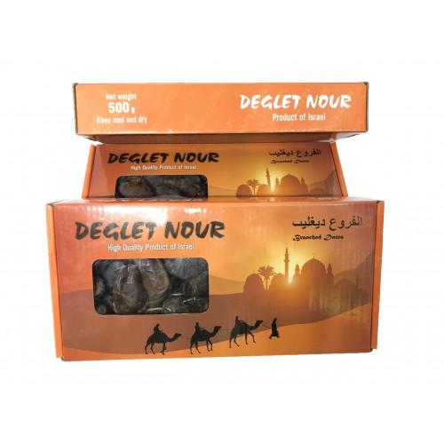 Chà là nguyên cành sấy khô Deglet Novr Israel 500g