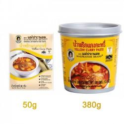 Gia vị cà ri vàng Yellow Curry Paste thái lan