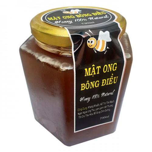 Mật ong bông điều thiên nhiên